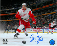 Danny DeKeyser Autographed Detroit Red Wings 8x10 Photo #6 - Coming at You