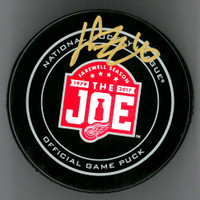 Henrik Zetterberg Autographed Farewell to the Joe Official Game Puck