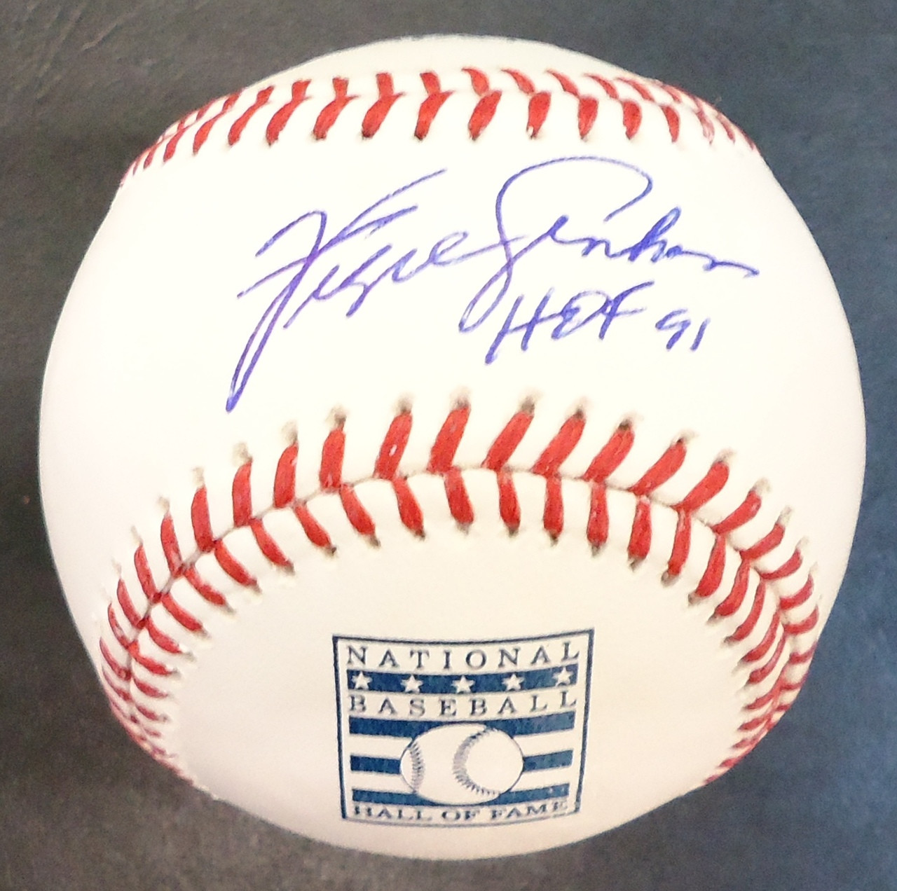 367b3b1a263 ... Fergie Jenkins Autographed Baseball - Official Hall of Fame Ball  Inscribed