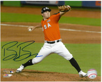 Beau Burrows Autographed Detroit Tigers 8x10 Photo #1 - 2017 Futures Game