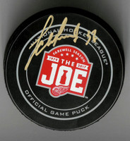 Evgeny Svechnikov Autographed Farewell to the Joe Official Game Puck