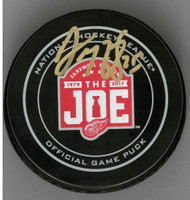 Darren McCarty Autographed Farewell to the Joe Official Game Puck