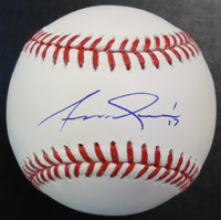 Andrew Romine Autographed Baseball - Official Major League Ball