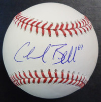 Chad Bell Autographed Baseball - Official Major League Ball