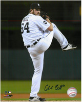 Chad Bell Autographed Detroit Tigers 8x10 Photo #1 - The Windup