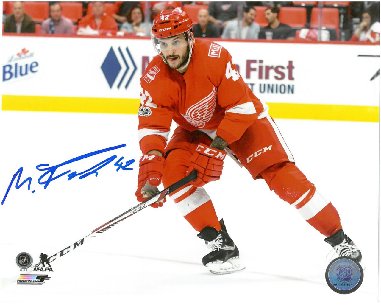 ... Martin Frk Autographed Detroit Red Wings 8x10 Photo  1. Image 1.  Loading zoom c8f0e6f23