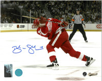 Brendan Shanahan Autographed Detroit Red Wings 8x10 Photo #2 - 500th Goal