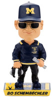 Bo Schembechler Michigan Wolverines Caricature Bobblehead