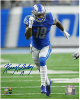 Kenny Golladay Autographed Detroit Lions 8x10 #3 - NFL Debut