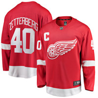 Detroit Red Wings Fanatics Breakaway Red Jersey - Zetterberg #40