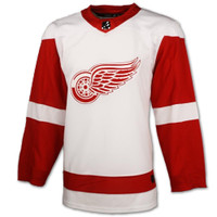 Detroit Red Wings Adidas Authentic White Jersey