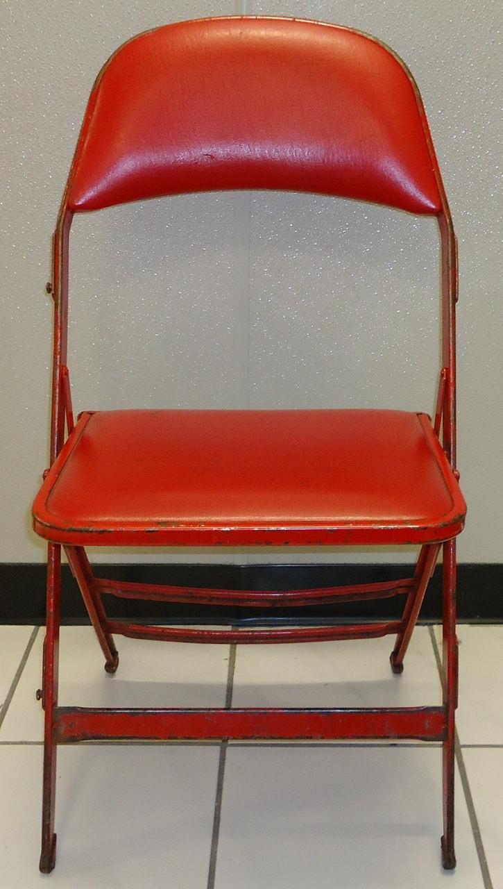 Joe Louis Arena Original Padded Folding Chair Detroit