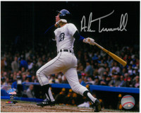 Alan Trammell Autographed 16x20 Photo #1 - 84 World Series Homer Inscribed MVP or HOF(Pre-Order)