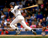 Alan Trammell Autographed 8x10 Photo #2 - Home Batting Horizontal Inscribed HOF or MVP (Pre-Order)