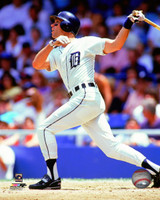 Alan Trammell Autographed 8x10 Photo #3 - Home Batting Vertical Inscribed (Pre-Order)