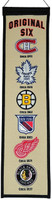 NHL Original Six Wool Heritage Banner