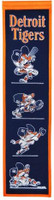 Detroit Tigers  Swinging Kitty Wool Heritage Banner