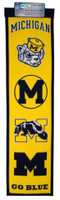 University of Michigan Wool Heritage Banner