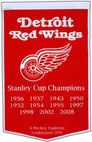 Detroit Red Wings Wool Dynasty Banner