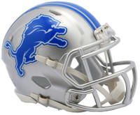Detroit Lions Riddell Mini Speed Helmet