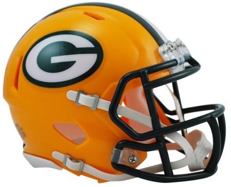 626e539f Green Bay Packers Riddell Mini Speed Helmet