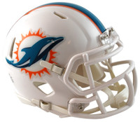 Miami Dolphins Riddell Mini Speed Helmet