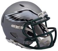 Philadelphia Eagles Blaze Alternate Speed Riddell Mini Helmet
