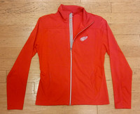 Detroit Red Wings Women's Levelwear Aurora Full Zip - Red
