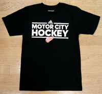Detroit Red Wings Men's Adidas Motor City Hockey T-Shirt