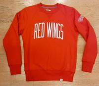 Detroit Red Wings Men's Red Fanatics Crew Sweatshirt