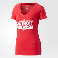Detroit Red Wings Women's Adidas Dassler T-Shirt