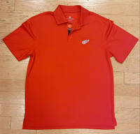 Detroit Red Wings Men's Levelwear Omaha Polo - Red