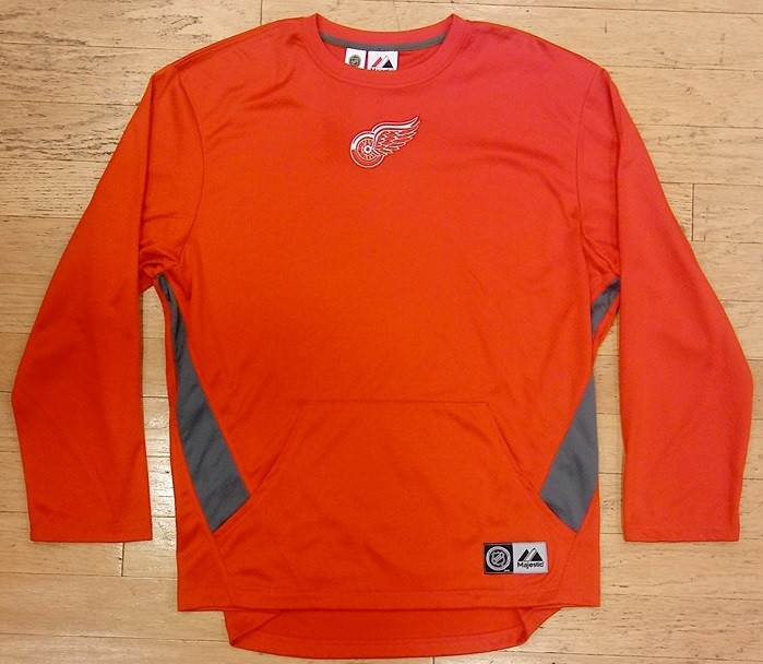 4678d8f1 Detroit Red Wings Men's Majestic Thermal Long Sleeve - Detroit City ...