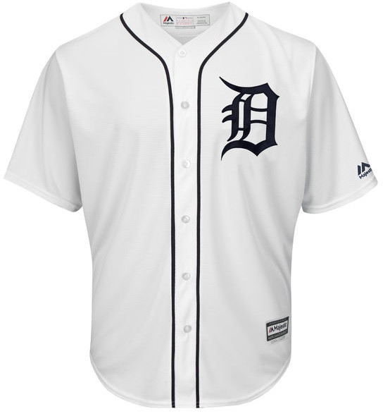 97649925f ... Men s Detroit Tigers Majestic White 2018 Home Cool Base Jersey. Loading  zoom
