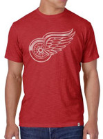 Detroit Red Wings Men's 47 Brand Basic Scrum T-Shirt