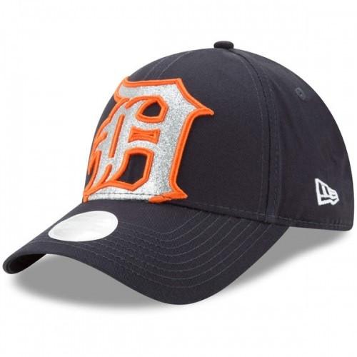 best value 5d0b0 af52f ... Detroit Tigers Women s New Era Navy 9Forty Glitter Glam 3 Adjustable  Hat. Image 1. Loading zoom