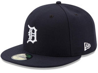 Detroit Tigers Men's New Era Navy Home Authentic Collection On-Field 59FIFTY Fitted Hat