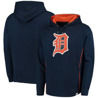 Detroit Tigers Men's Majestic Left Vs. Righty Pullover Hoodie