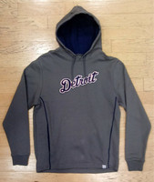 Detroit Tigers Men's Majestic Grey Athlete Hoodie