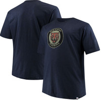 Detroit Tigers Men's Majestic Cooperstown Collection Back in the Day T-Shirt