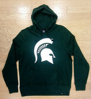 Michigan State University Men's 47 Brand Green Hoodie