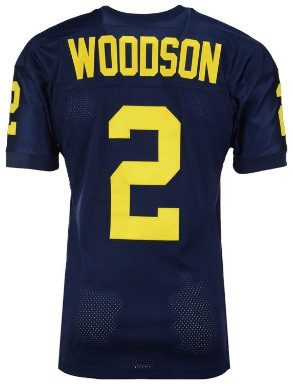 newest 2fb9b 6c959 University of Michigan Men's 47 Brand Charles Woodson Throwback Jersey