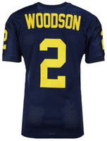 University of Michigan Men's 47 Brand Charles Woodson Throwback Jersey
