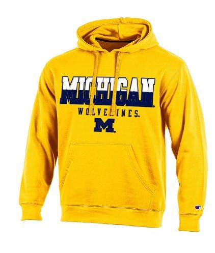 University of Michigan Men s Champion Maize