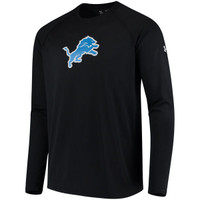 Detroit Lions Men's Under Armour Black Combine Long Sleeve