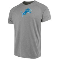 Detroit Lions Men's Under Armour Grey Combine  T-Shirt