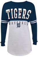 "Detroit Tigers Women's 5th & Ocean ""Spirit"" Long Sleeve"