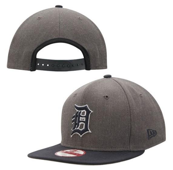 ff891b828a058a ... Detroit Tigers Men's New Era Graphite/Navy Original Fit 9FIFTY Snapback  Adjustable Hat. Image 1. Loading zoom
