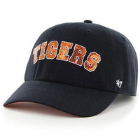 Detroit Tigers Women's 47 Navy Natalie Sparkle Cleanup Adjustable Hat