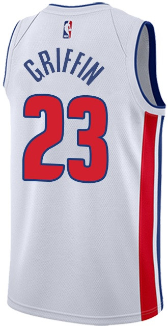 a97785cfd99 ... Detroit Pistons Men s Adidas Blake Griffin Home Jersey - White. Loading  zoom